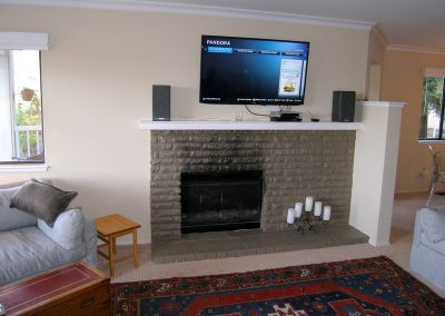Fireplace and Entertainment