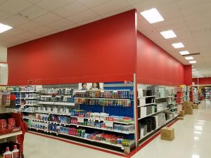 Huskers Painting Services Commercial Interior: CVS Pharmacy 1250 K Plaza Omaha, NE