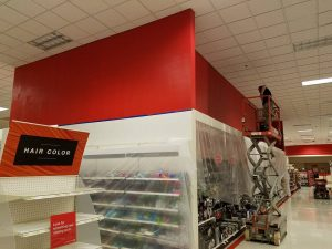 Huskers Painting - Commercial Interior: CVS Pharmacy 16959 Evans Plaza Omaha NE