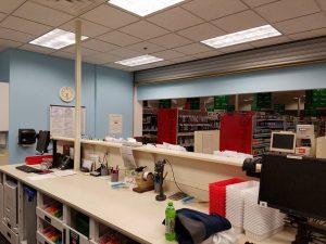 Huskers Painting - Commercial Interior: CVS Pharmacy 16959 Evans Plaza Omaha NE