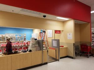Huskers Painting Commercial Interior CVS Pharmacy 4001 North 132nd St. Omaha, NE.