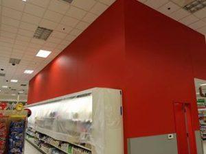 Huskers Painting Commercial Interior: CVS Pharmacy 6636 North 73rd Plaza ,Omaha NE