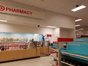 Huskers Painting Commercial Interior: CVS Pharmacy 718 North Washington St. Pappilion, NE.