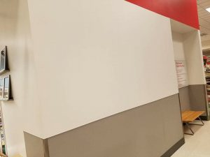 Huskers Painting Commercail Interior: CVS Pharmacy 7200 Dodge Omaha, NE