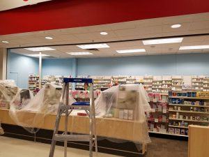 Huskers Commercial Painting - CVS Pharmacy: West Center Rd. Omaha NE.